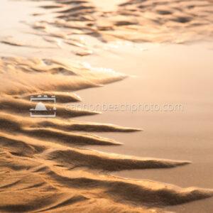 Tidepool Edge in Golden Light
