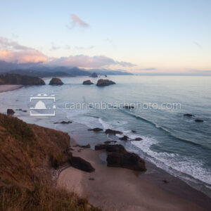 Peaceful Sunset at Ecola Point