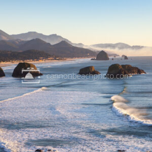 Ecola State Park, Sunset Light