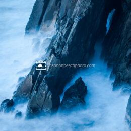 Sea Arch in Stormy Seas