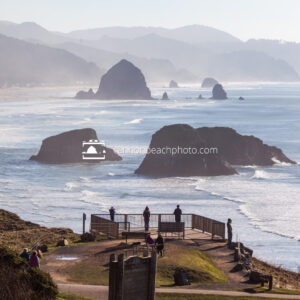 Winter Viewpoint at Ecola State Park