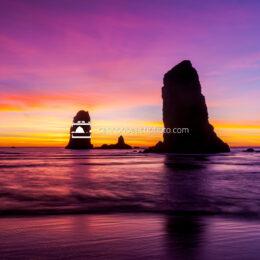 Dynamic Sunset at Needles