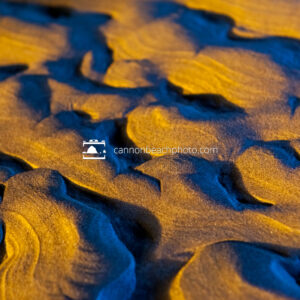 Sand Texture Golden and Blue