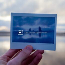 Polaroid Photo of Cannon Beach Needles