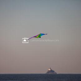 Kite Over Tillamook Lighthouse